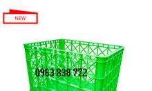 Rổ nhựa công nghiệp - bán các sóng nhựa giá rẻ.