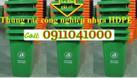 Thùng rác nhựa 120l, thùng rác 240l, xe rác 660l bán với giá tốt (ảnh 1)