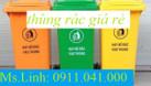 Thùng rác nhựa 120l, thùng rác 240l, xe rác 660l bán với giá tốt (ảnh 3)