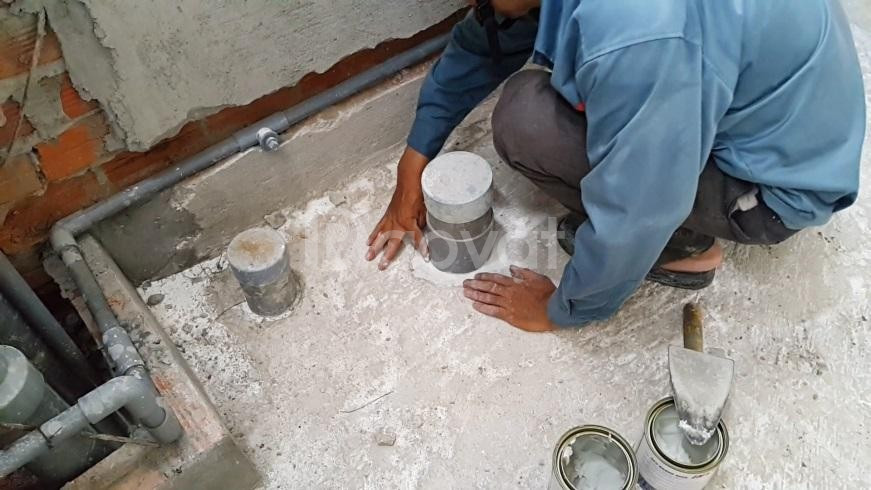 Nhận sửa chữa nhà vệ sinh, chống thấm lăn sơn tại Xuân La