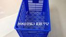 Rổ nhựa công nghiệp - bán các sóng nhựa giá rẻ. (ảnh 3)