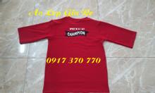 Chuyên áo thun đồng phục in thêu logo theo yêu cầu giá rẻ