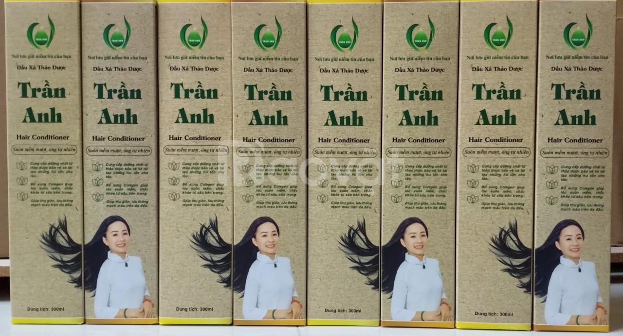 Bộ dầu gội - xả thảo dược Trần Anh