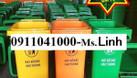 Thùng rác nhựa 120l, thùng rác 240l, xe rác 660l bán với giá tốt (ảnh 4)