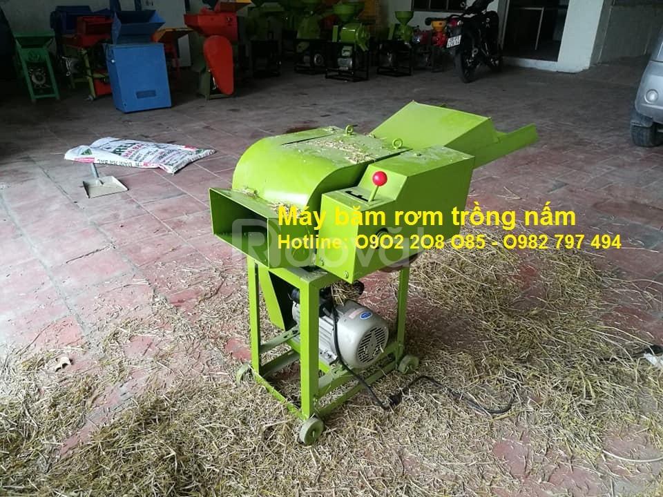 Bán máy băm rơm trồng nấm,cây ngũ cốc,thảo dược,băm cỏ