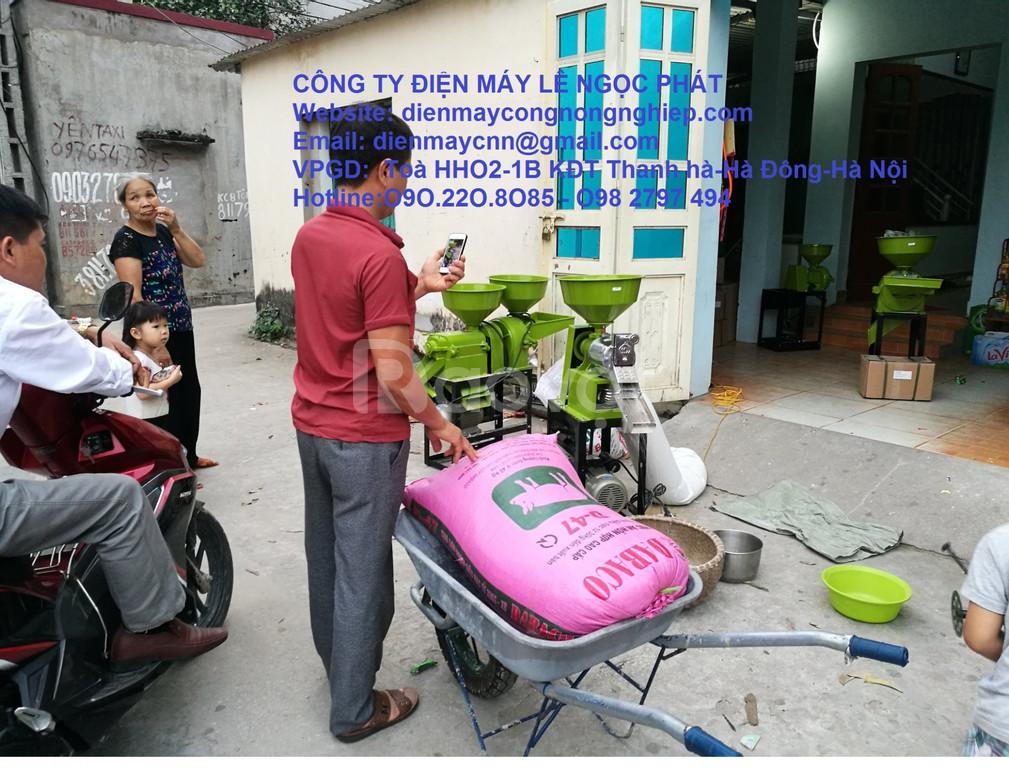 Địa chỉ bán máy xát gạo mini lắp động cơ xăng Honda GX160 giá rẻ