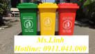 Thùng rác nhựa 120l, thùng rác 240l, xe rác 660l bán với giá tốt (ảnh 8)