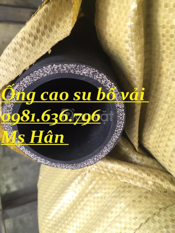 Ống cao su bố vải, ống cao su chống nổ, cao su lõi thép