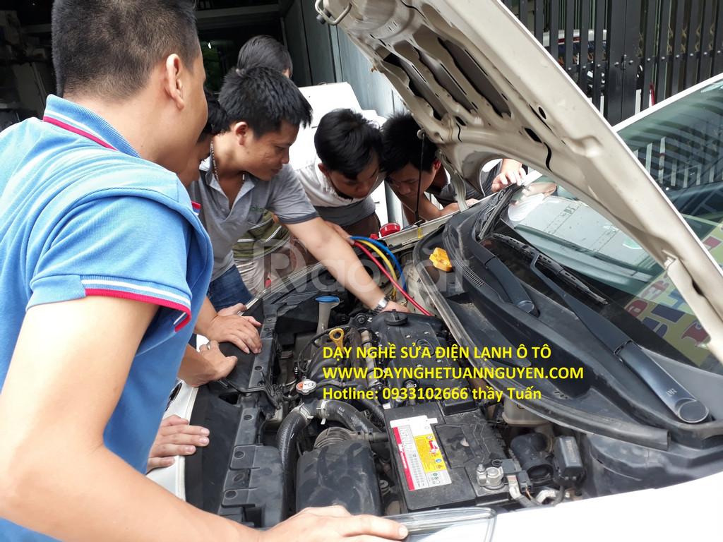 Mở lớp thường xuyên nghề điện ô tô, điện xe hơi