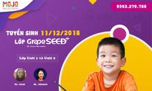 Tuyển sinh thần tốc lớp Tiếng Anh GrapeSEED cho bé - 11/12/2018