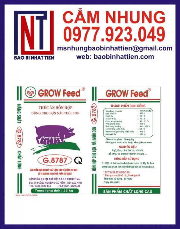 Nhà cung cấp bao bì thức ăn chăn nuôi