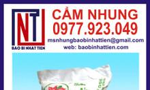 Cung cấp bao bì đựng gạo, bao bì gạo 40kg