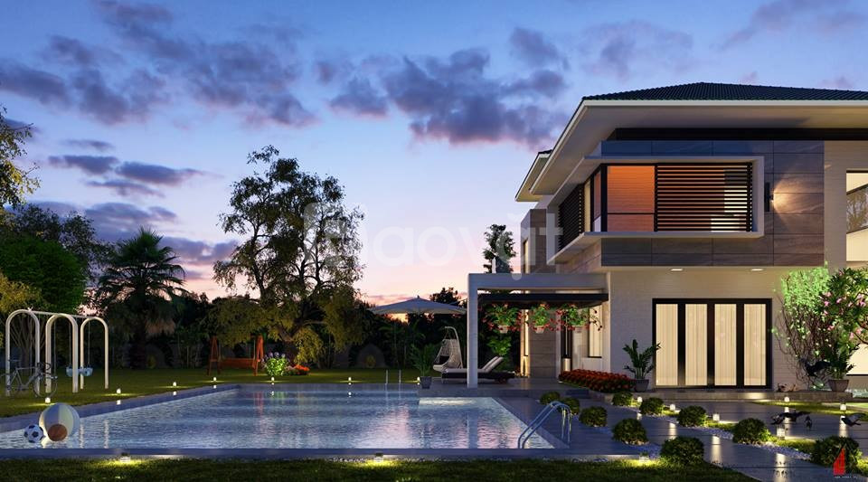 Nhà thầu chuyên nghiệp về thiết kế thi công biệt thự tại Bình Dương