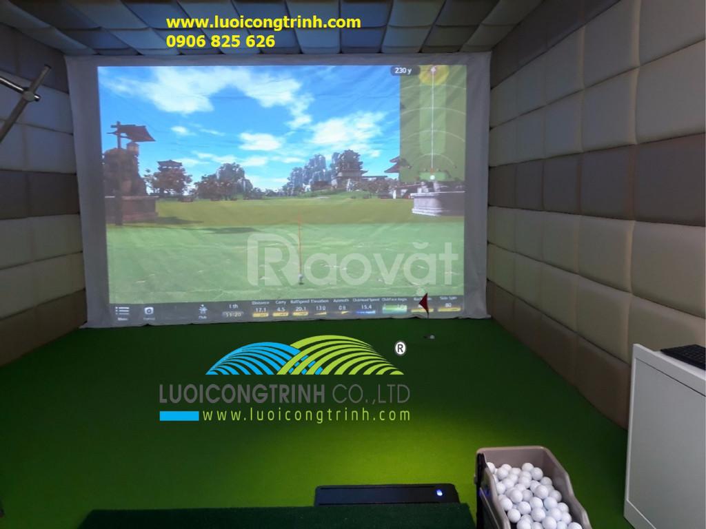 Thi công lắp đặt Golf 3D Hàn Quốc