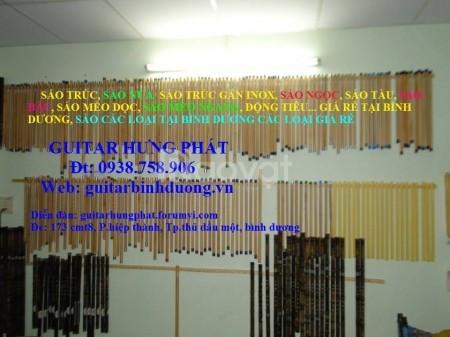Bán sáo đủ loại giá và phụ kiện rẻ tại guitar Hưng Phát