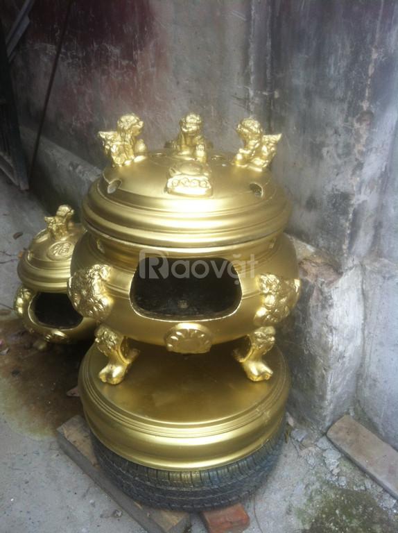 Đỉnh hóa vàng, lư đốt vàng mã đất chịu nhiệt giá xưởng