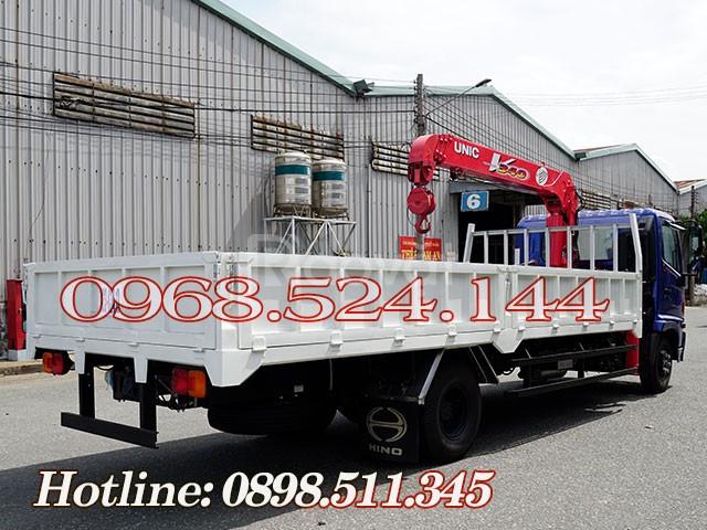 Xe tải Hino 5T gắn cẩu Unic 340 có sẳn giao liền (ảnh 7)