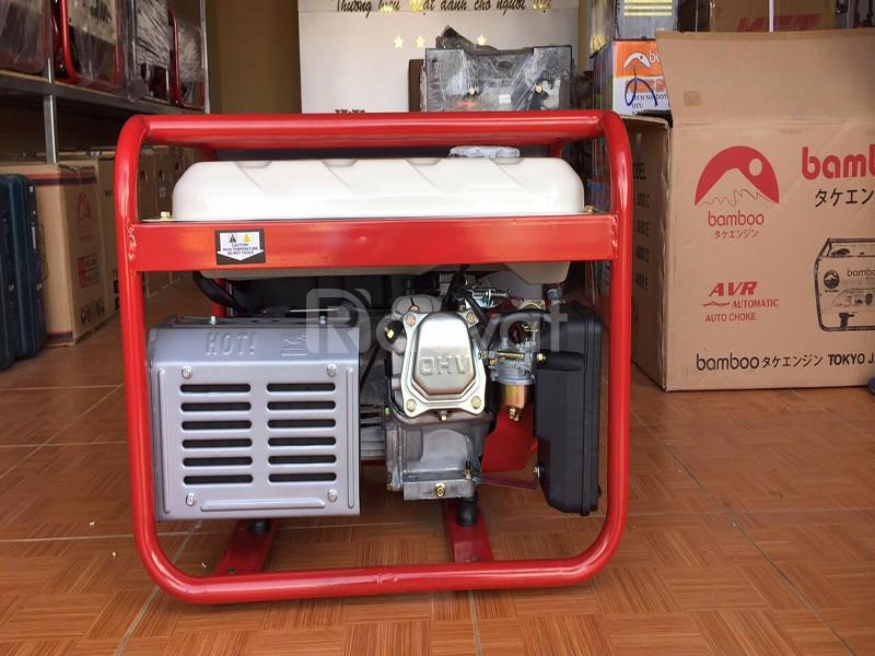 Máy phát điện chạy xăng Bamboo 3800E 2,8kw đề