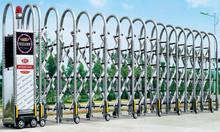 Cổng tự động - cổng xếp - cổng xếp F822