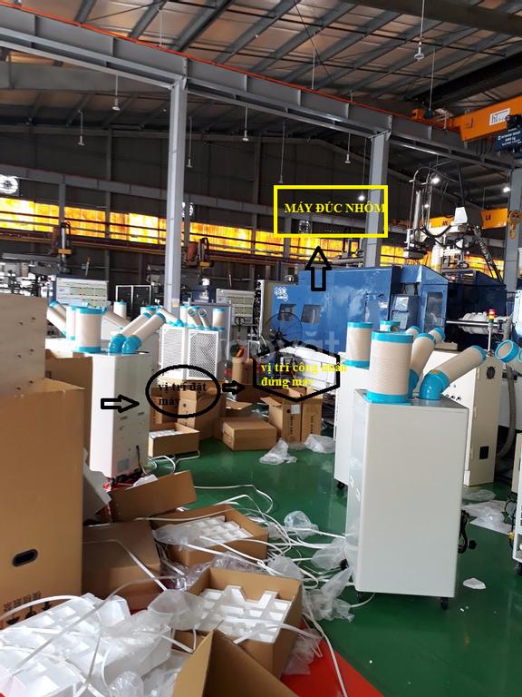 Máy lạnh di động SAC-4500, máy lạnh di động công nghiệp