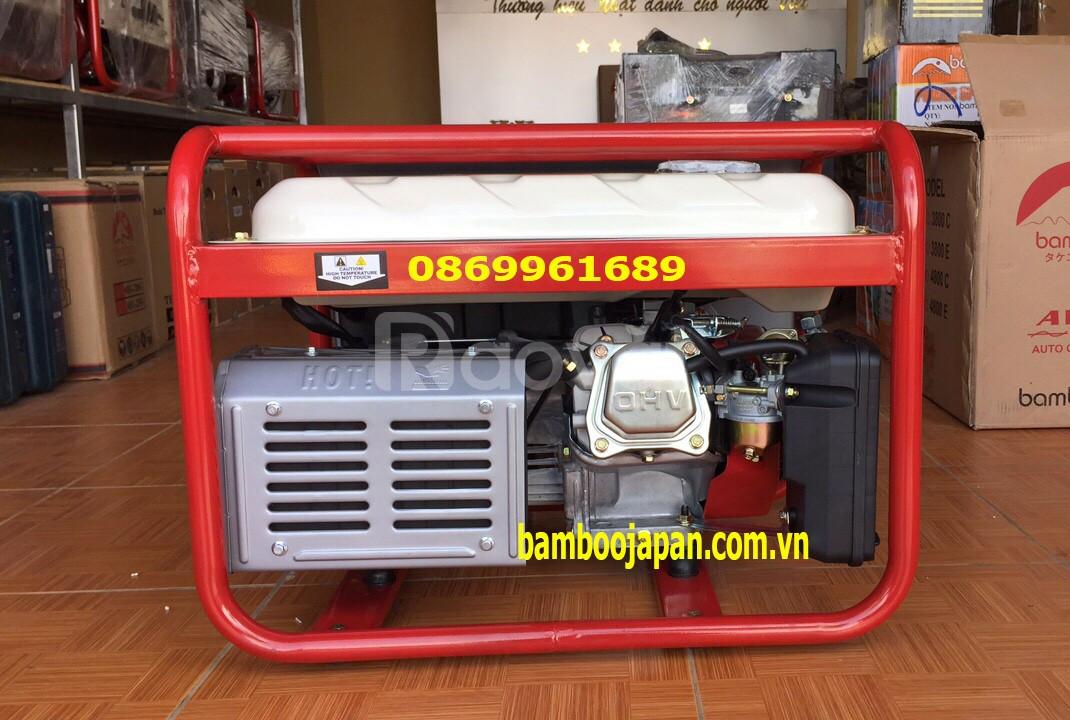 Máy phát điện chạy xăng Bamboo 3800C 2,8kw-giật tay