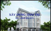 Nhận thiết kế nhà phố, biệt thự, giá rẻ, giám sát thi công