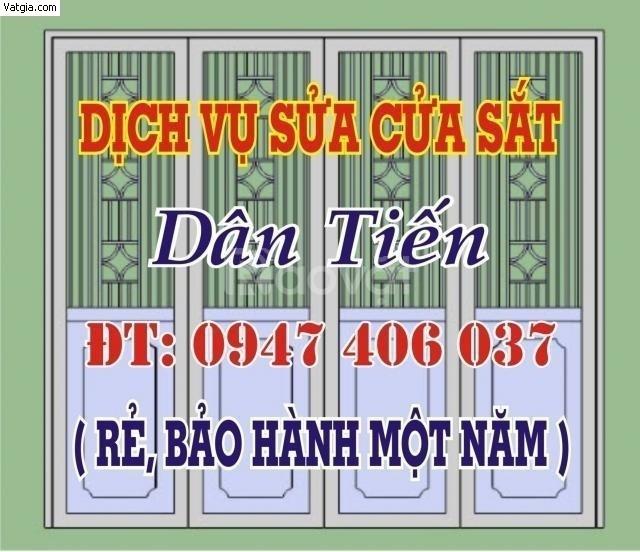 Sửa cửa sắt chống trộm tại Quận Gò Vấp - Thợ hàn lưu động