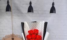 Hoa hồng sáp thơm giá sỉ tại TPHCM sỉ đầu đầu bông hoa sáp 3 lớp 1k8