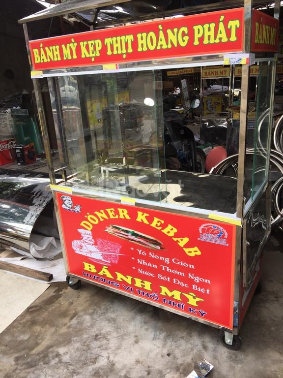 Xe bánh mỳ thổ nhĩ kỳ, cây bánh mì doner kebab, lò nướng doner kebab