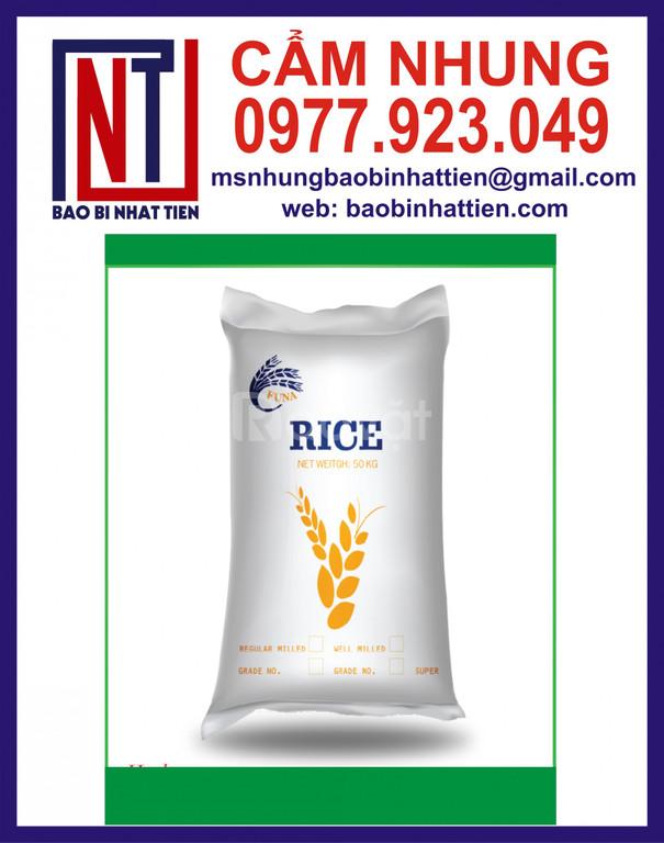 Nhật Tiến chuyên cung cấp bao bì đựng gạo 25kg, 50kg