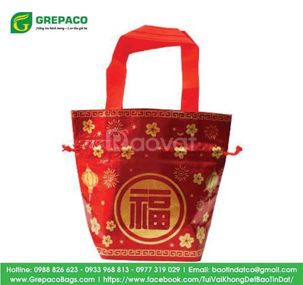 Túi vải không dệt - in túi đựng quà tết doanh nghiệp