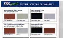 EP1760 sơn lót kẽm, ET5740 sơn phủ màu, EP170QD sơn lót chống rỉ