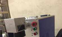 Máy laser fiber khắc kim loại, máy laser fiber mini