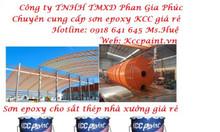 Mua sơn Epoxy cho sắt thép: EP170QD lót chống rỉ, LT313 sơn dầu