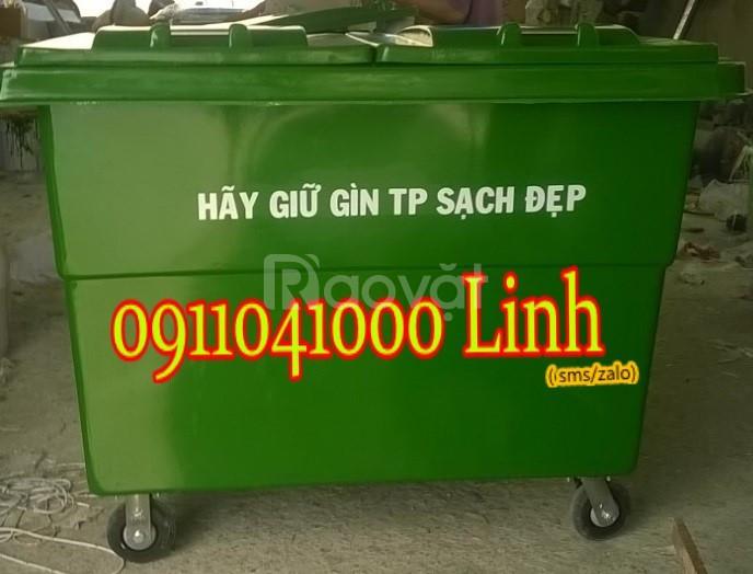 Bán thùng rác nhựa công cộng phân phối toàn quốc giá cạnh tranh