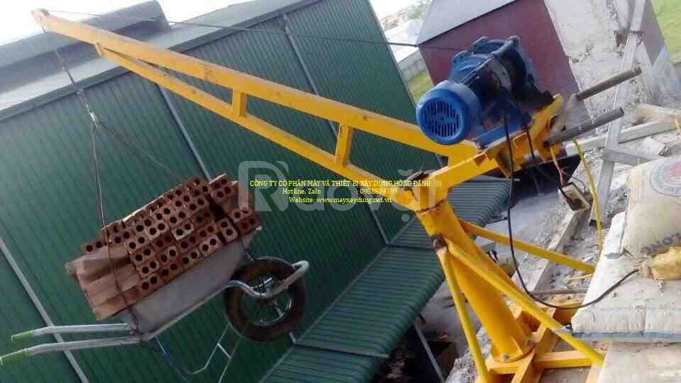 Máy tời xây dựng 500kg giá tốt - điện 220 v