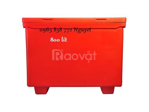 Thùng giữ lạnh 800L - thùng đá 450L - thùng đá giá rẻ