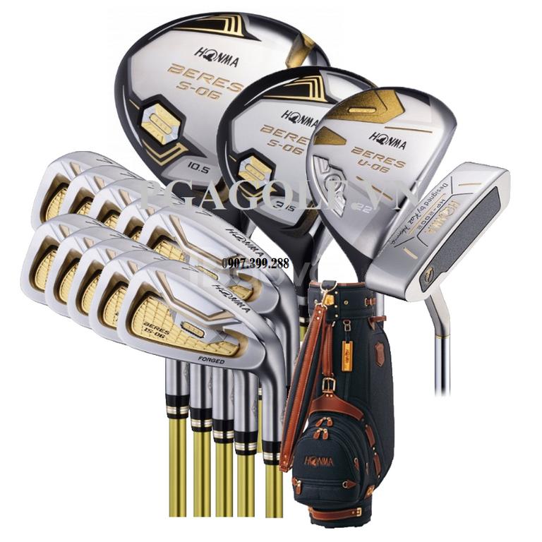 Honma 3 sao fullset bộ gậy golf chính hãng Nhật