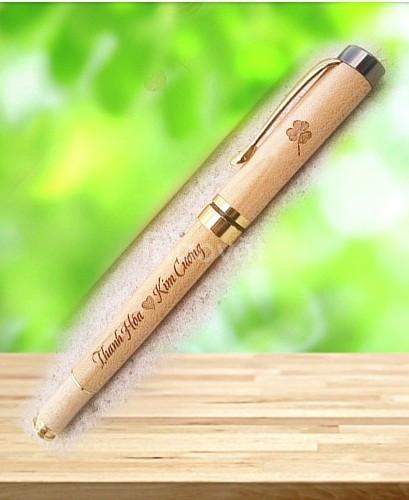Bút gỗ khắc tên, bút gỗ khắc chữ