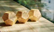 Lịch gỗ để bàn ( mẫu 8 )