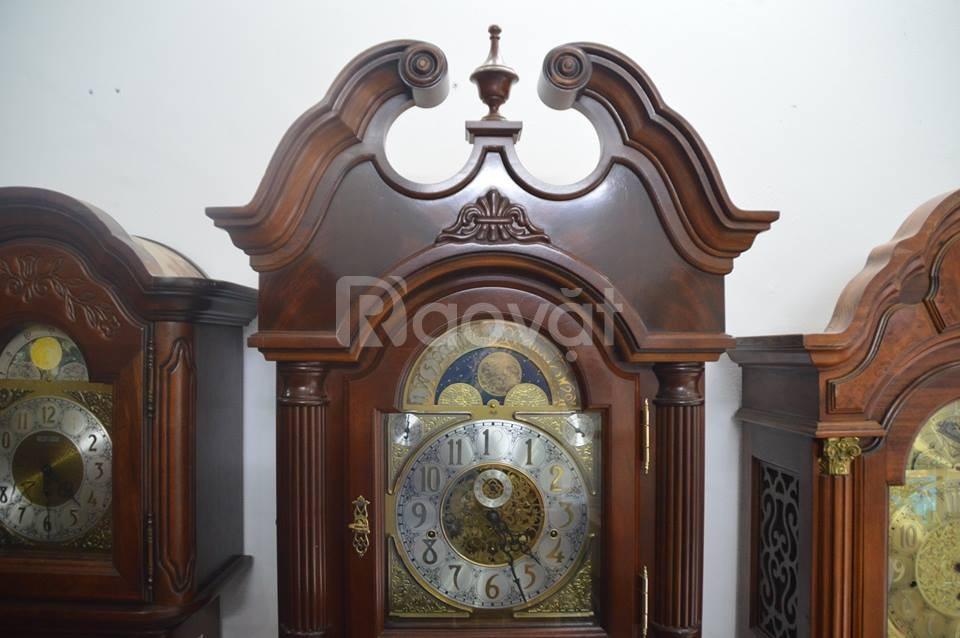 Đồng hồ SOAII SLIGH vân gỗ có sò Made in Holland
