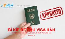 Bí kíp để đậu visa Hàn