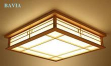 Đèn gỗ ốp trần Ancient Japanese style QN-DGT10