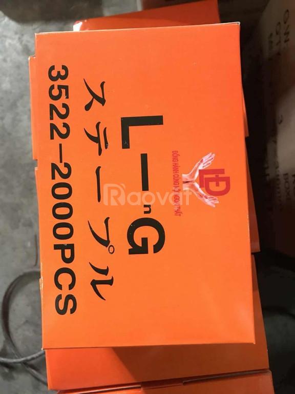 Máy đóng kim thùng carton 3518/3522 giá rẻ