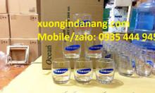 Chuyên In logo ly thủy tinh giá rẻ tại Đà Nẵng