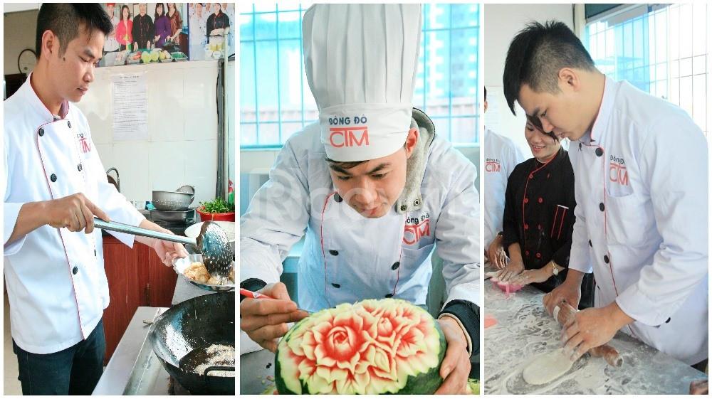 Dạy nấu ăn chuyên nghiệp - đầu bếp Việt cho người đi làm