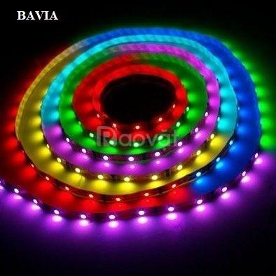 Đèn led dây cuộn 7 màu RGB chống thấm nước QN-4101