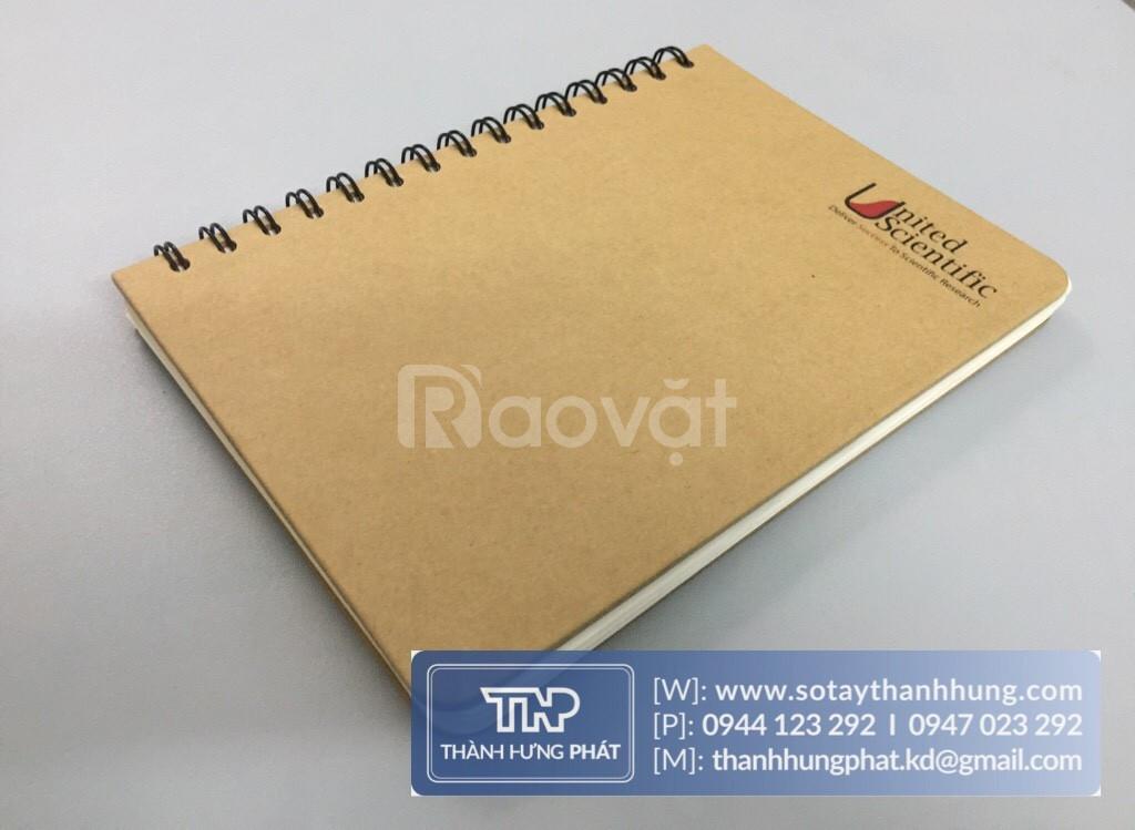 Sản xuất sổ tay sản xuất sổ lò xo sản xuất sổ da