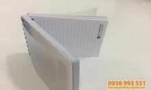 Sản xuất in ấn sổ lò xo theo yêu cầu khách hàng, nơi in sổ tay đóng lò