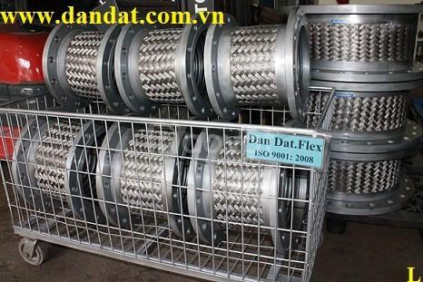 Vật liệu thép không gỉ (khớp nối mềm inox, khớp nối mềm lắp bích)